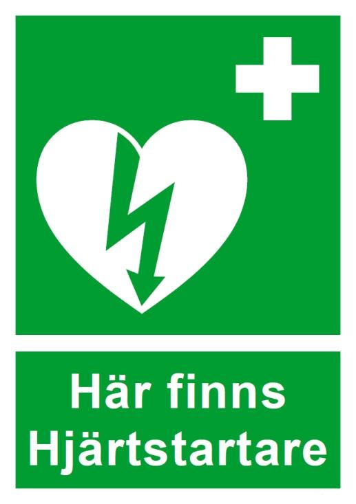 Det finns två hjärtstartare i vårt område. Klicka på bilden för mer information.